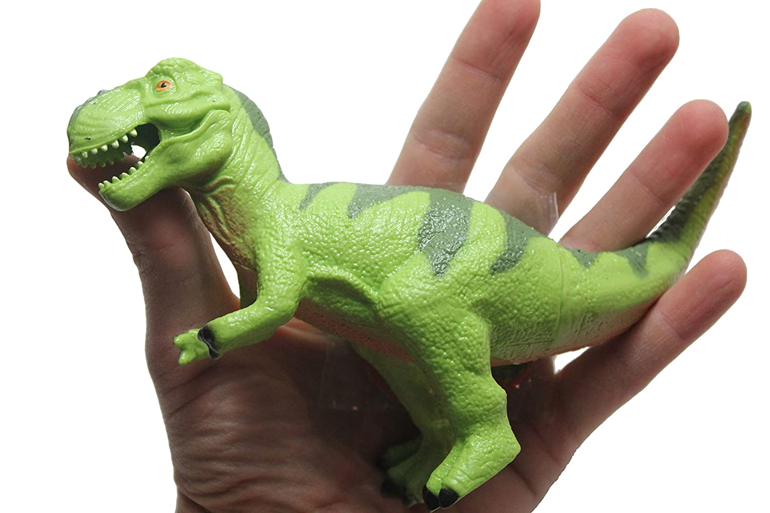 Curious Minds Busy Bags Squishy Stretchy Large Dinosaur Toy Sensory Fidget Green