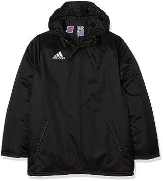 adidas Kinder Jacke Anoraks Coref std jkty Winterjacke, Black White, 116 b702d30865