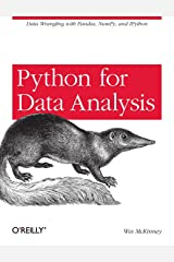 Python for Data Analysis: Data Wrangling with Pandas, NumPy, and IPython Paperback