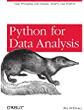 Python for Data Analysis.