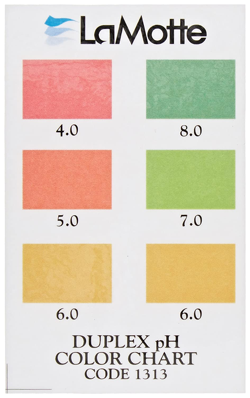 Lamotte 1313 soil ph test kit color chart soil duplex teskit lamotte 1313 soil ph test kit color chart soil duplex teskit ph test strips amazon industrial scientific nvjuhfo Images