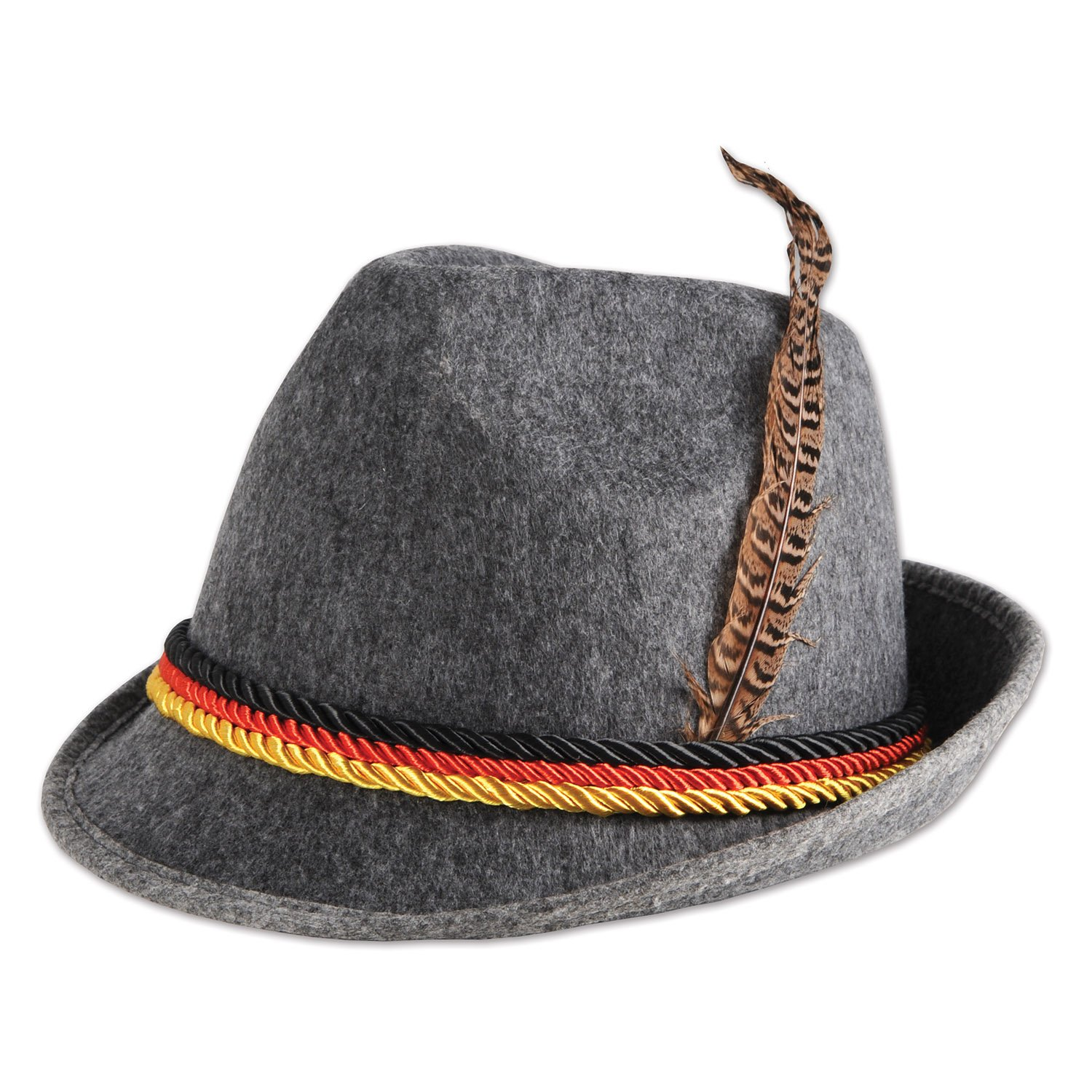 Beistle - German Alpine Hat Gray One Size 60243