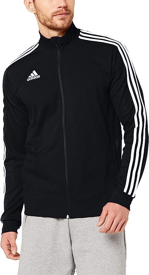 adidas Herren TIRO19 TR JKT Sport Jacket, BlackBlackWhite