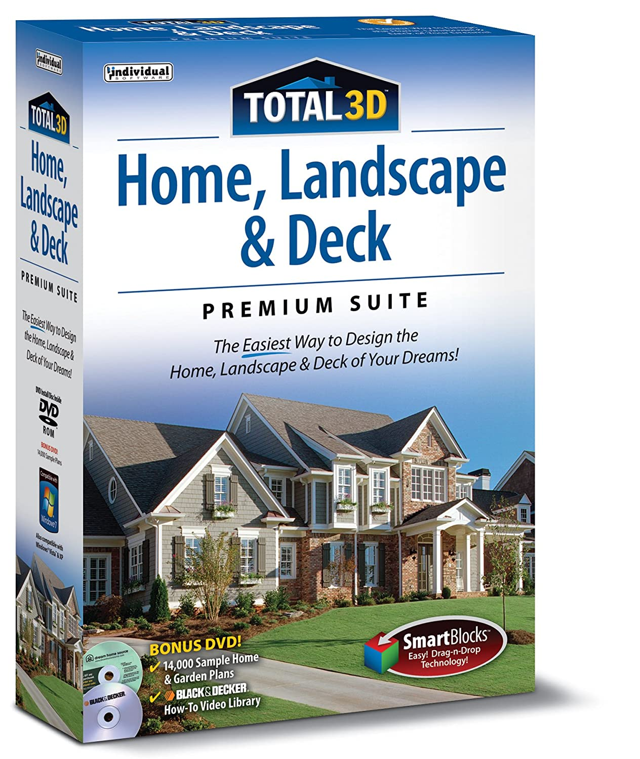Total 3d home landscape deluxe suite 6 0 aclodoszans s blog for 3d home architect landscape design deluxe v6 0