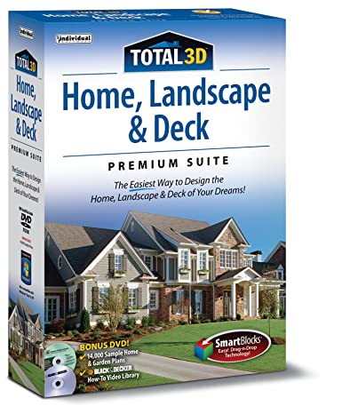 Total 3D Home, Landscape and Deck Suite 12: PC: - Amazon.ca on total tank design, home office interior design, total furniture design, 3d floor plan home design, 3d architectural home design, 3d hut home design, contemporary home design, total home deluxe software, home deck design, 3d home interior design, houzz home design, architecture home design,