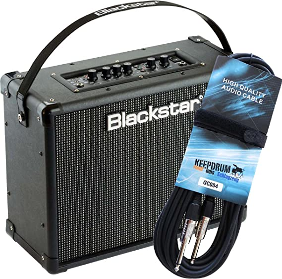 Black Star ID Core 40 Stereo Combo para guitarra Amplificador + Guitarra GC Cable de Keepdrum 004 6 m gratis.: Amazon.es: Instrumentos musicales