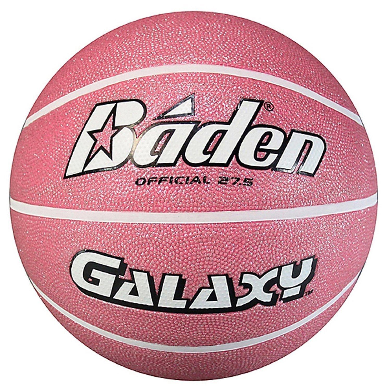 Baden Galaxy Basketball, Glitter Pink - 27.5''