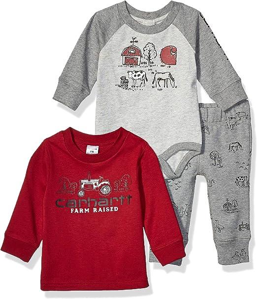 Carhartt Baby Boys Long Sleeve Sweatshirt