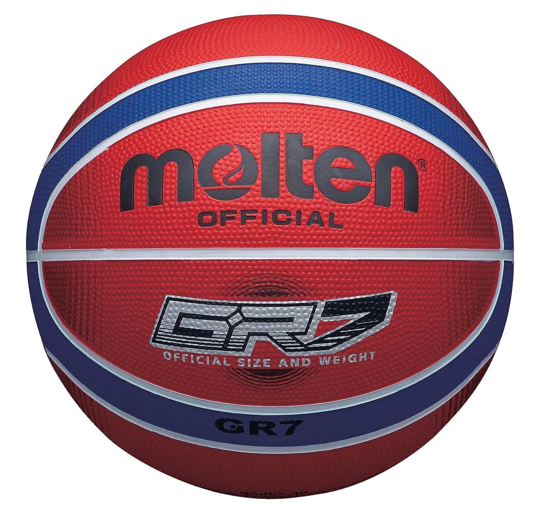 MOLTEN BGRX Rubber - Pelota de Baloncesto, Color Rojo, Talla 6 cm ...