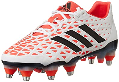 adidas Adipower Kakari SG Chaussures de Rugby pour Homme, Noir–(negbas/Plamet/versol) 442/3