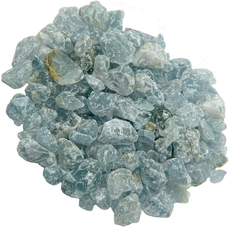 1//2 to 1 inch Pieces Rough 1 Pound Emovendo Celestite 1lb Bulk Lot lb