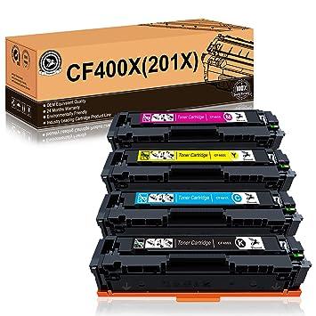 Fituwork cartucho de tóner compartible de reemplazo para HP 201X ...