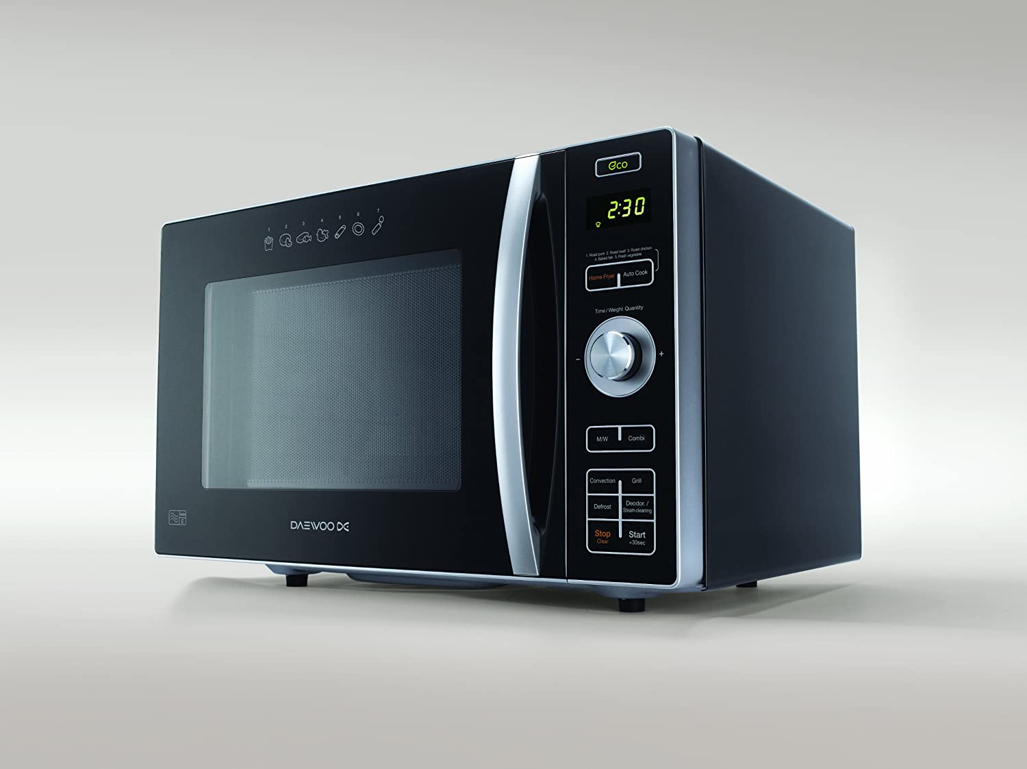 Daewoo 24l Combination Microwave Oven Amp Fat Free Fryer In