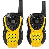 Binatone Latitude 100 - Walkie talkie radio con alcance de hasta 3 km, color amarillo