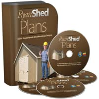 10 X 12 Storage Shed Project Plans