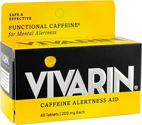 Vivarin Caffeine Alertness Aid, Tablets 40 ea Pack of 2
