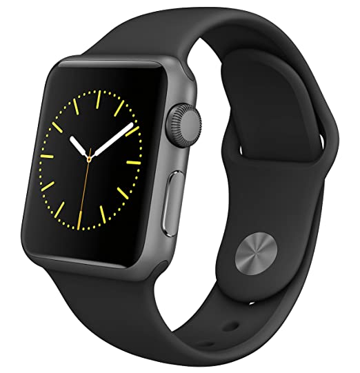 7b37ea38516e Image Unavailable. Image not available for. Color: Apple Watch Series 1 Smartwatch  42mm, Space Gray Aluminum ...