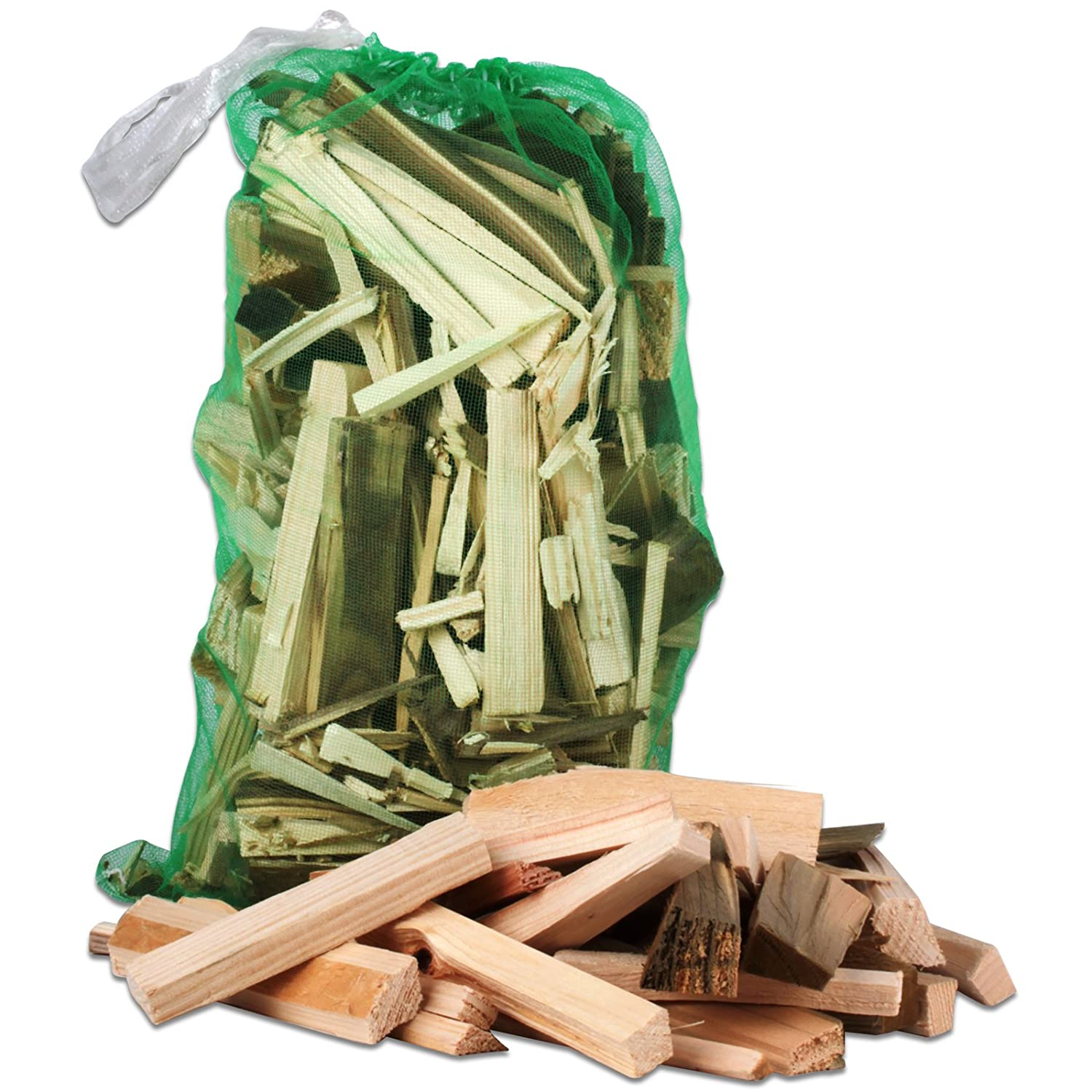 12KG Tigerbox® High Quality Wooden Kindling. Ideal for Fire Starting, Open Fires, Stoves, Wood Burners, BBQ & Ovens Shop4accessories