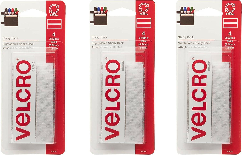 Velcro White (3 Pack)
