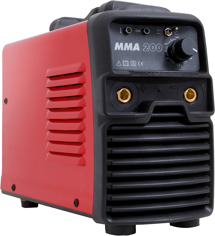 Gala Gar 22300200MMA Soldadura portátil, 230 V, rojo