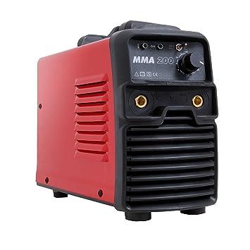 Gala Gar 22300200MMA Soldadura portátil 230 V, rojo: Amazon.es: Bricolaje y herramientas