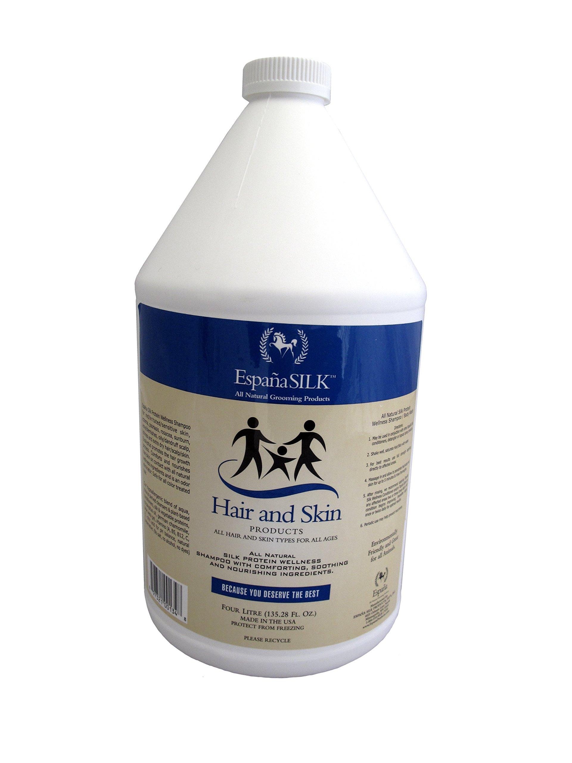 Espana Silk ESP0125P 135.28 oz Protein Wellness Shampoo, 4 L