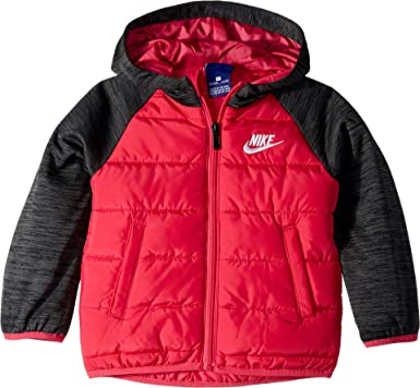 d9dc03ad23 Amazon.com: Nike Kids Baby Girl's Therma Fleece Quilted Jacket (Toddler)  Rush Pink 2T Toddler: Clothing