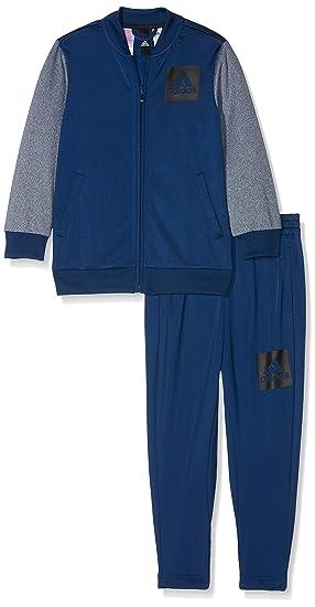 adidas YB Iconic Suit Survêtement Enfants  Amazon.fr  Vêtements et ... e6e7b430cac