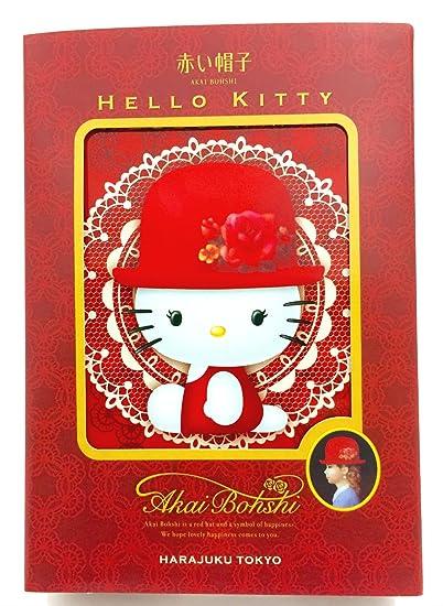 sombrero rojo Hello Kitty rollo Surtido (siete cajas X1)