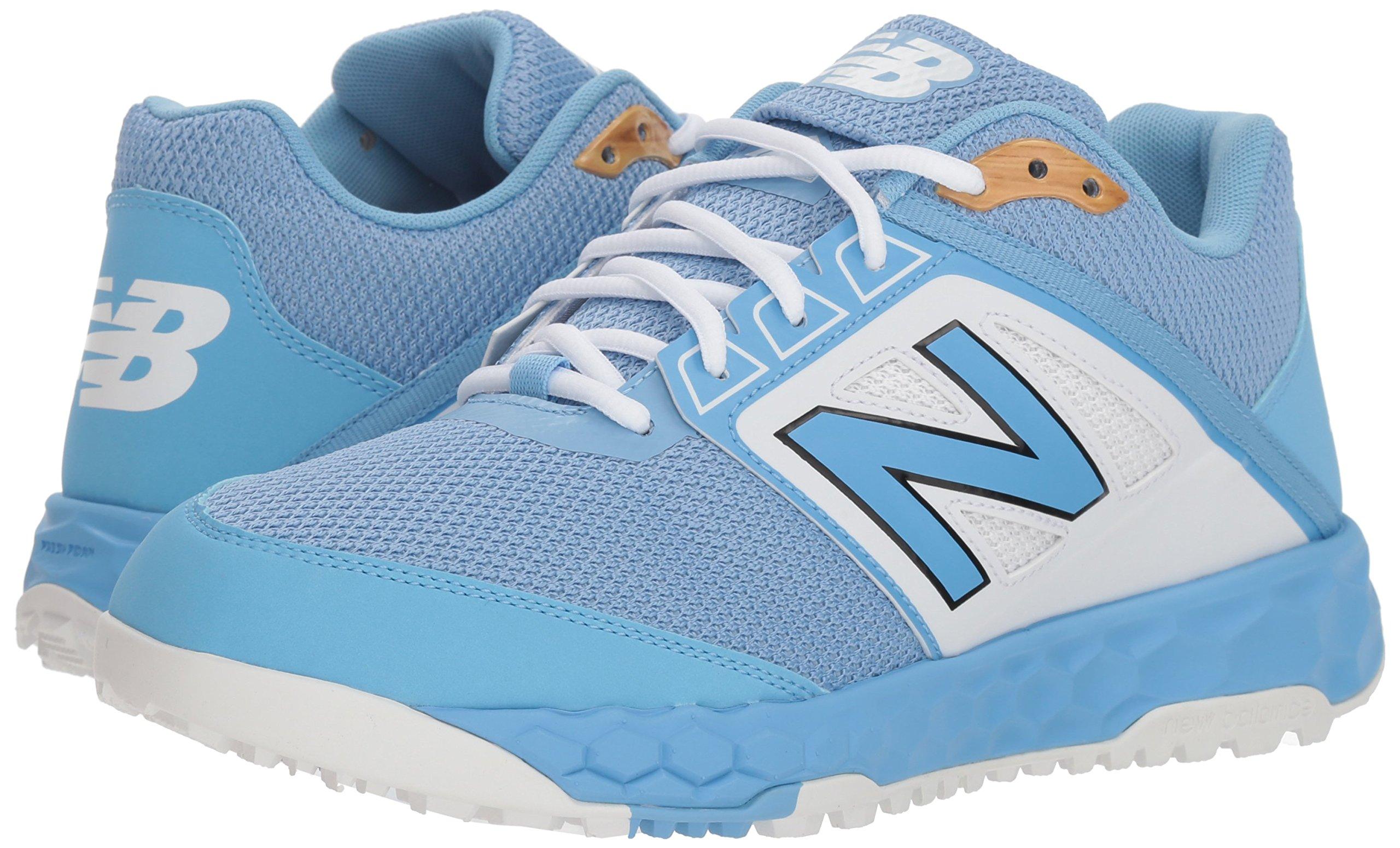 New Balance Men's 3000v4 Turf Baseball Shoe, Light Blue, 5 D US by New Balance (Image #5)