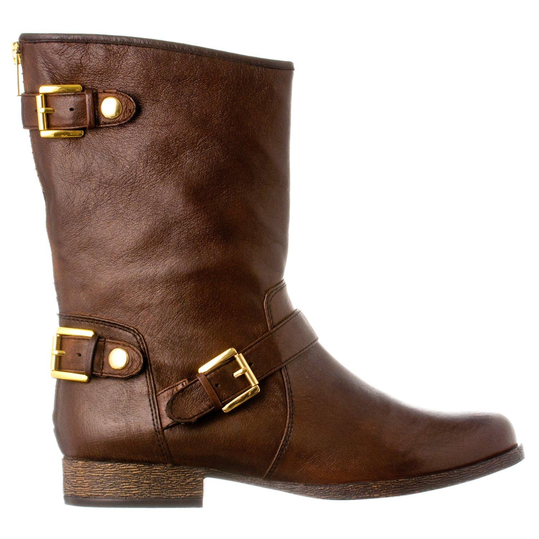 436d440d215 Steve Madden Women's Enngage Leather Boots