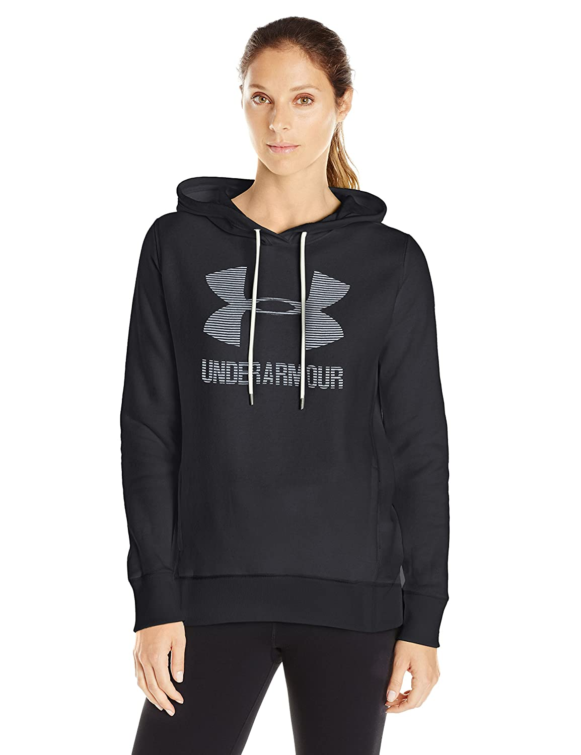 Under Armour Women's Favorite Fleece Sportstyle Hoodie Under Armour Apparel 1295097