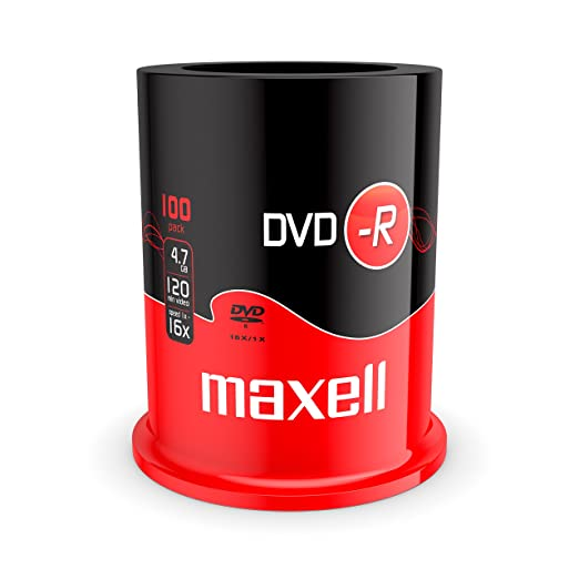 16 opinioni per DVD-R vergini 275611 Maxell 16X, 4,7GB in campana da 100 pezzi