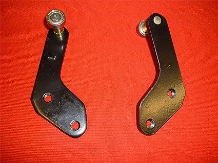 Bisagra de puerta corredera rodillo guía – Parte inferior/gib114l ...