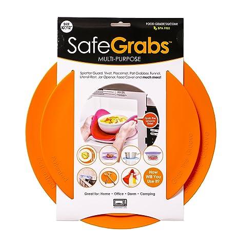 Amazon.com: Safe Grabs protector de salpicaduras de silicona ...