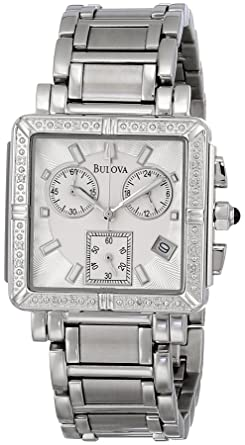 Image Unavailable. Image not available for. Color  Bulova Women s 96R000  Diamond Accented Chronograph Watch 227e0743e1