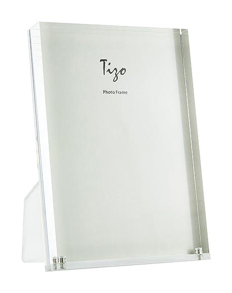 Amazoncom Tizo 8 X 10 Acrylic Crystal Clear Photo Frame Made