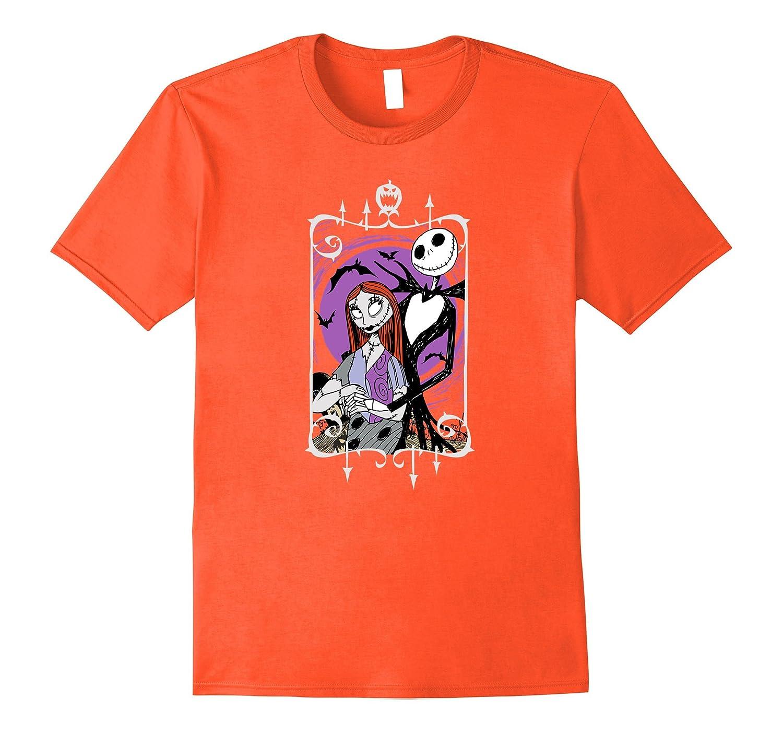 Disney Nightmare Before Christmas Jack and Sally T Shirt-TJ – theteejob