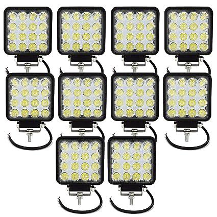 20pcs 4INCH 18W LED WORK LIGHT BAR DRIVING SPOT OFFROAD SUV ATV UTE TRUCK BOAT
