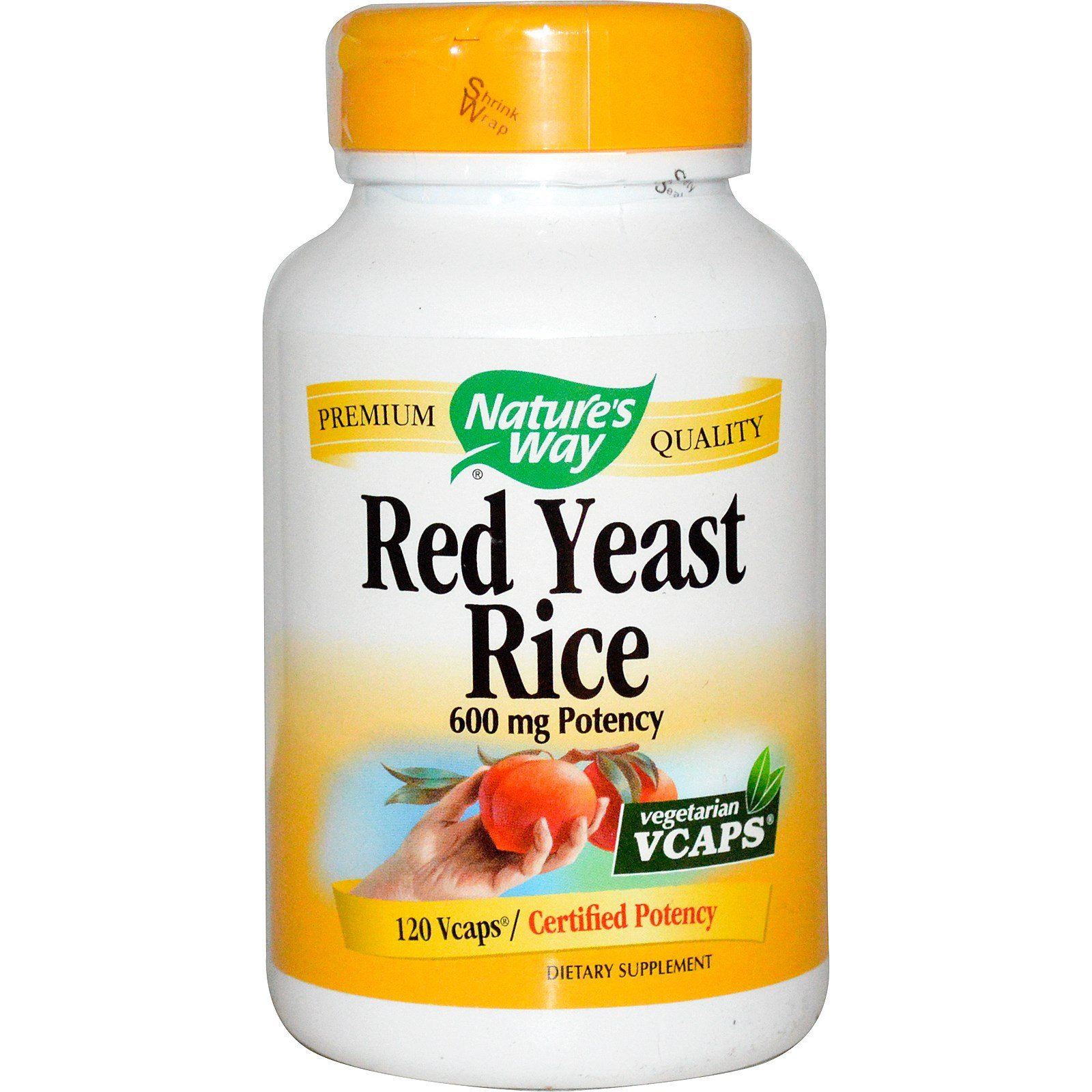 Nature'S Way Red Rice Yeast 120 Vcap