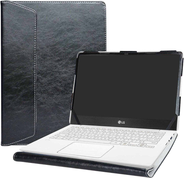 """Alapmk Protective Case Cover For 13.3"""" LG gram 13 13Z970 13Z980 Series Laptop(Warning:Not Fit LG gram 13 13Z960/13Z950),Black"""