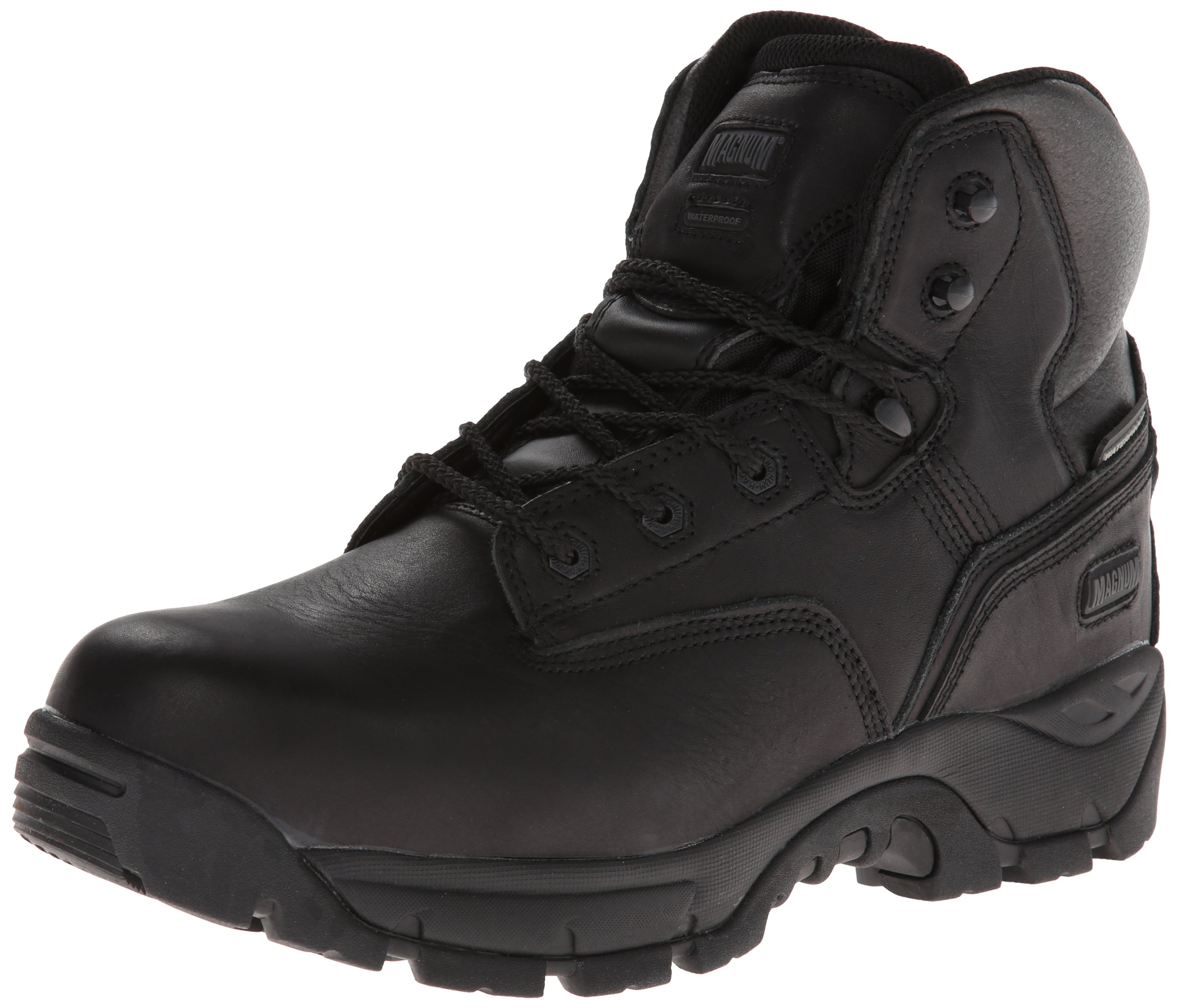 Magnum Men's Precision Ultra Lite II Waterproof Comp Toe Boot,Black,10.5 M US