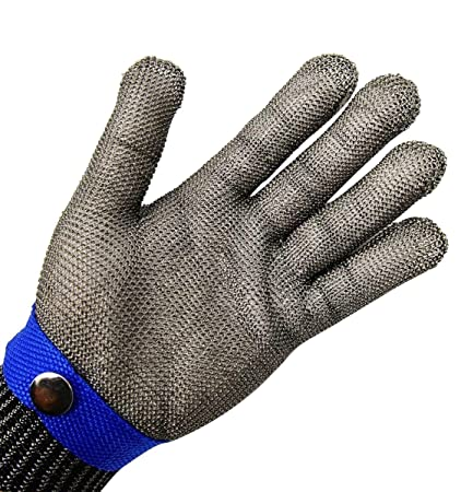 Professional Sale Anti-cut Gloves Safety Cut Proof Stab Resistant Stainless Steel Wire Metal Mesh Cut-resistant Safety Gloves Outdoor Multi Tools Outdoor Tools Back To Search Resultssports & Entertainment