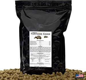 1.5 lbs, Tortoise Chow/Diet/Feed/Food, an Extruded 1/2