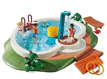 Playmobil Piscina Juguete geobra Brandstätter 9422: Playmobil: Amazon.es: Juguetes y juegos