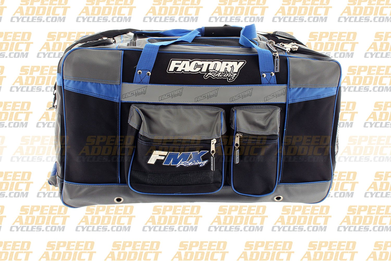 Factory FMX Motorcross Gear Bag XLarge Blue by Factory Racing (Image #5)