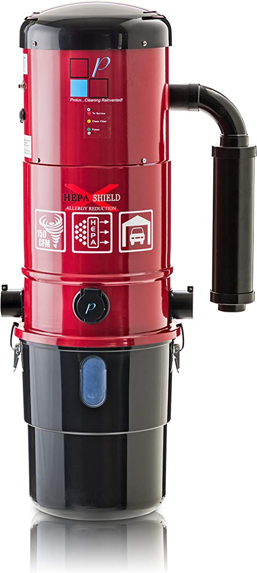 Holife Central Vacuum Installation Parts for Stick Vacuum,Suitable to Cleaning Car Home Red