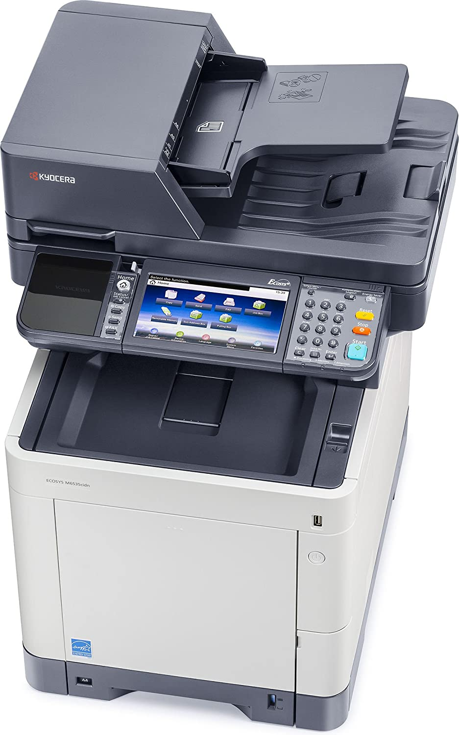 Amazon Kyocera ECOSYS M6535cidn Color Multifunctional Printer fice Products