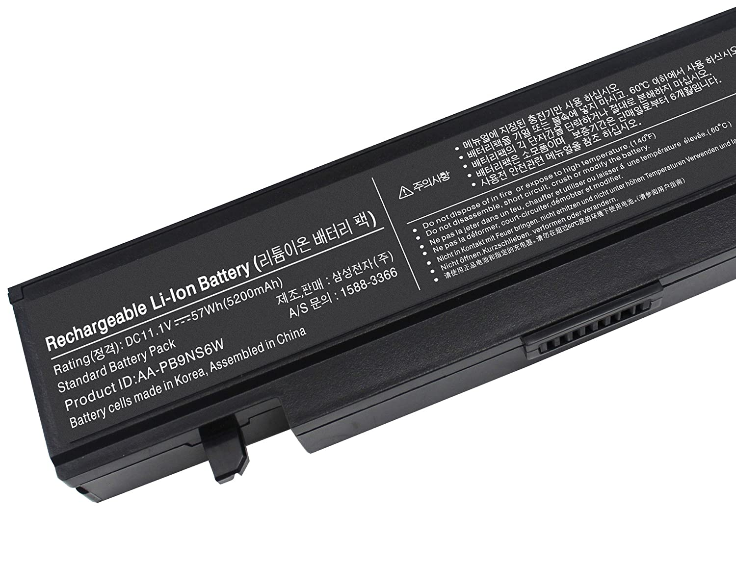 Gomarty NEW Laptop Battery for Samsung R420 R430 R468 R470 R480 RV510 RV511 RC512 R519 R520 R530 R540 R580 R730 Q320 Q430 NP350E7C NP550P5c Np365e5c ...