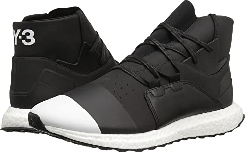 2da12639073c Adidas Y-3 by Yohji Yamamoto Men s Y-3 Kozoko High Core Black Core Black Footwear  White Sneaker  Amazon.ca  Shoes   Handbags